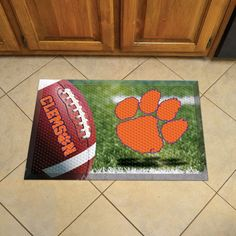 Clemson University Doormat Scraper - Ball