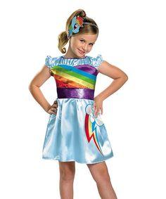 Loving this Rainbow Dash Dress-Up Set - Girls on #zulily! #zulilyfinds