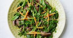 Roastbeef a la thai-salat