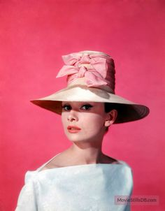 Funny Face - Promo shot of Audrey Hepburn