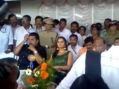 Sania Mirza Inagurating President's Trophy Boat Race kollam