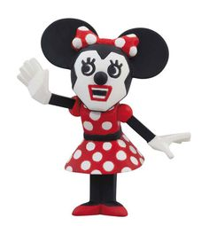cubic mouth Minnie Mouse
