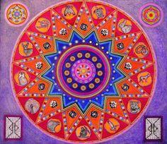 mandalas art | MANDALA sono dei disegni di origine tibetana usati per praticare la ...