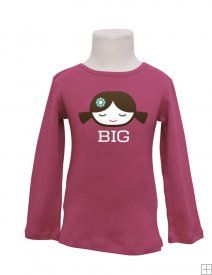 How cute are these Glug Big Sister tees?!