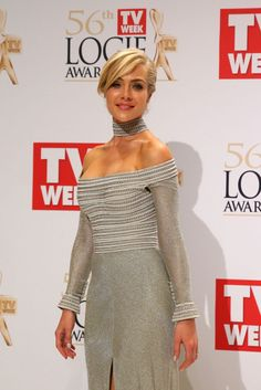 Jessica Marais at 2014 Logie Awards in Melbourne, April 2014.