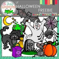 This 24-piece set includes some brand new things that are sure to make your Halloween wonderful!Included are 12 brightly colored images and 12 black and white images.Black and White images are not shown in the preview.All images are hand drawn and unique.Listed below are the items listed in the pack:BatBroomCatCauldronGhostHead StoneMoonPumpkinRatSpiderTrick or Treat BagSpider WebDuplicate images in the file.The images have high resolution and are in .png format so they can easily used.Be…
