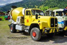 Alle Größen | Saurer 330 10.9.2016 3639 | Flickr - Fotosharing! Equipment Trailers, Mixer Truck, Concrete Mixers, Old Tractors, New Trucks, Cars And Motorcycles, Jeep, Transportation, Monster Trucks