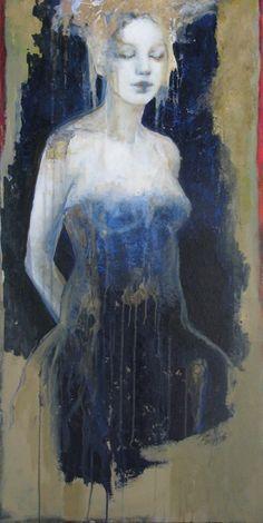 WATER? Joan Dumouchel - Contemporary Artist - Figurative Painting
