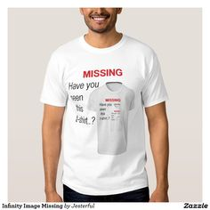 Infinity Image Missing T-Shirt