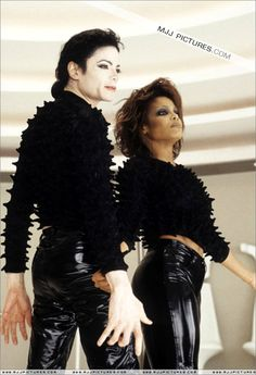 Michael & Janet, SCREAM!!/ great video! Love Janet's outfits and choreography is point on