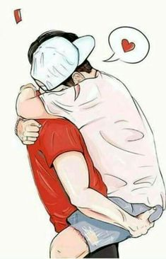 No Trouble Examples How To Draw Gay Couples 2019 Tumblr Gay, Image Snapchat, Gay Mignon, Comics Illustration, Couple Illustration, Skinny Love, Cute Gay Couples, Sterek, Gay Art