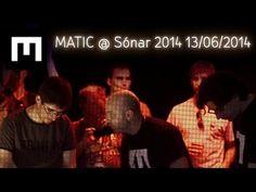 MATIC en Sónar +D 2014 con Vidibox 13/06/2014