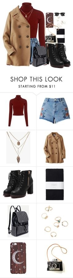"""""""Untitled #928"""" by apocalipso on Polyvore featuring A.L.C., Miss Selfridge, Uniqlo, Toast and H&M"""