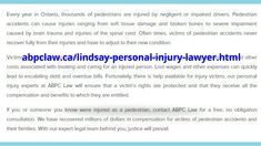 Personal Injury Lawyer, Trauma, Mary