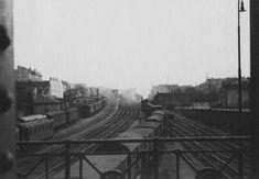 Bahngleisanlage in Hütteldorf um 1939 Vienna, History, Historia