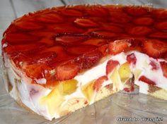 Polish Recipes, Polish Food, Summer Cakes, Icebox Cake, Taste Buds, Tiramisu, Recipies, Cheesecake, Dessert Recipes