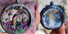 Kristina Matthews and her Husband Marcus are from California, where they run a small family business of handmade art and jewelry. Hand made by the couple, their portal necklaces are by far the most popular, each holding its own unique magical little world. Kristina says she's inspired by nature and most … Continue reading