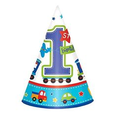 Amscan All Aboard Boy 1st Birthday Party Cone Hats 6  Blue/White  sc 1 st  Pinterest & Playhut - School Bus Play Tent - Playhut - Toys