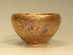 Meiji Period Kyo Satsuma Bowl by Hasegawa Bizan.