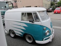 The small Volkswagen Kombi's