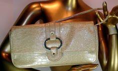SOLD Butler Essentials Moc Croc Organizer Handbag by Jen Groover #JenGroover #ButlerEssentials