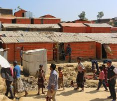 PKPU HI Rampungkan 700 Shelter Rohingya di Bangladesh : Shelter ini ditempatkan di Kamp Pengungsian Balokhali 2 yang tersebar dalam beberapa blok.