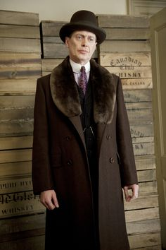 """Enoch Malachi """"Nucky"""" Thompson is a fictional character and the protagonist of the HBO TV series Boardwalk Empire. Played by Steve Buscemi, Nucky is based on former Atlantic City political figure Enoch L. Johnson."""
