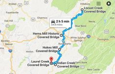 A Covered Bridge Trail In West Virginia And It's Everything You've Ever Dreamed Of