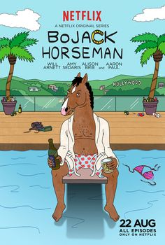 BoJack Horseman. Such a ridiculous way to waste time...but I am looking forward to watching more! Haha