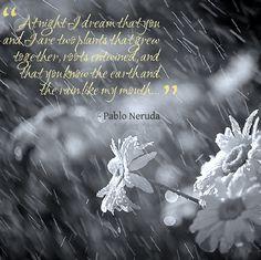 """""""Neruda"""" in the Rain"""