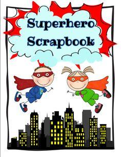 Hooty's Homeroom: Superhero Theme