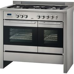 Zanussi 100cm Dual Fuel Range Cooker, 5 Burner Gas Hob with Cast Iron Supports, Double Oven Multifunction, Auto Timer, Stainless Steel - ZCM1031X: Fantastic piece of equipment, making everyday jobs that bit easier.