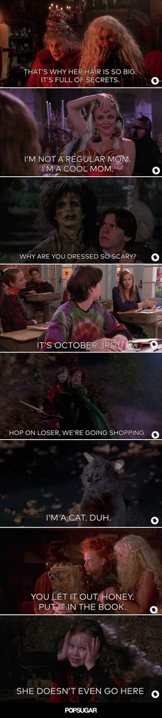 Pin for Later: You Have to See This Mean Girls/Hocus Pocus Mashup
