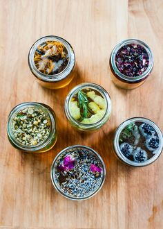 DIY Flower and Fruit Infused Syrups plus a Spring Cocktail Recipe