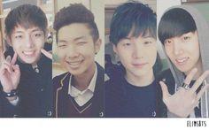BTS pre-debut