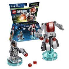 Lego Dimensions Cyborg (DC Comics) Fun Pack (Universal), Multicolor
