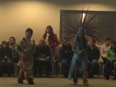 Aztec folklore dance for OLG celebration. 2013