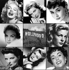 faces of hollywood
