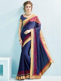Blue+Color+Embroider+Designer+Party+Wear+Saree   #indianfashion #dress #latepost #australia #indiandesigner #punjabisuit #pakistanifashion #anarkali #indianweddings #punjabiwedding #tamilbride #bridallengha #southasianbrides  #lehenga #pakistan #india #newyork #fashion #designer #kareenakapoor #bridalshower #weddingdress #weddings #henna #inspiration #indian #dubai #southindian #london #shopping