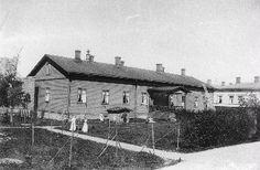 Yleinen sairashuone, Näsilinnankatu 50 (Nalkalankatu), kuva 1890-luvulta
