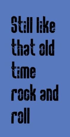 Bob Seger ~ Old time rock n Roll