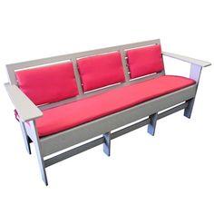 Low Slat Back Lounge Sofa - Eco Friendly Furniture | National Business Furniture