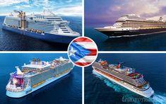 4 recién estrenados barcos de cruceros visitarán Puerto Rico a lo largo del 2018. Hoy recogemos todos los datos de sus visitas a la isla del encanto.