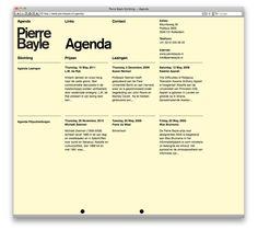 Almost Modern / Pierre Bayle Website Minimal Website Design, Great Website Design, Website Layout, Corporate Design Manual, Interactive Web Design, Minimalist Web Design, Creative Web Design, Text Layout, Design Web