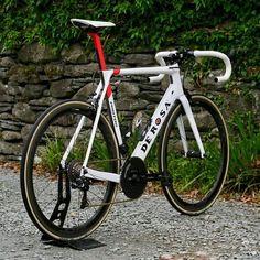 "Push Cartel on Instagram: ""De Rosa Protos with ShimanoDura Ace Di2 9150, ROTOR Flow InPower chain set with Qarbon chainring, Zipp 303 NSW wheels, Vittoria Corsa tyres…"""