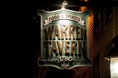 The oldest bar in every state (and DC!)    Warren Tavern, Charlestown, MA (1780)
