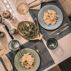 Jantar especial aqui em casa para comemorar a semana produtiva.. E adivinha quem cozinhou hoje?? Eu!! Fiz espaguete de pupunha (fácil e delicioso) e mostrei tudo lá no #stories  #dicasdachris