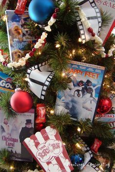 Image result for movie themed christmas tree