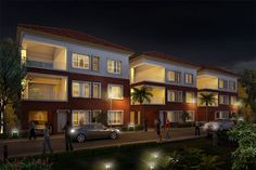 The #resort life style villa at #Mayur Springdale is an undeviating reflection of contemporary living trend. The superlative construction standards, however, represents   a marked shift in redefining luxurious homes – featuring an artistic design and innovative features that separate it from the pack. Exquisite quality in each villa   entails remarkable functionality with abundant, creative flow of space in all the 4 BHK villas, of 1200 sq. ft.
