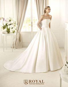 板橋蘿亞手工婚紗 Royal handmade wedding dress 婚紗攝影 購買婚紗 單租婚紗 西班牙 Pronovias DALAMO